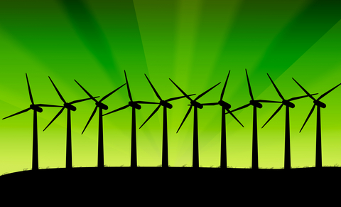 Green wind power